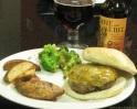 Man Meals: Juicy Ground Venison Burgers