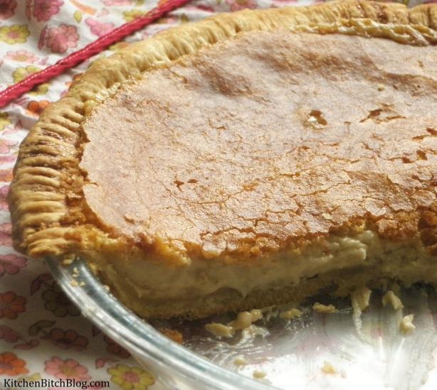 Easy Entertaining: Hoosier Sugar Cream Pie