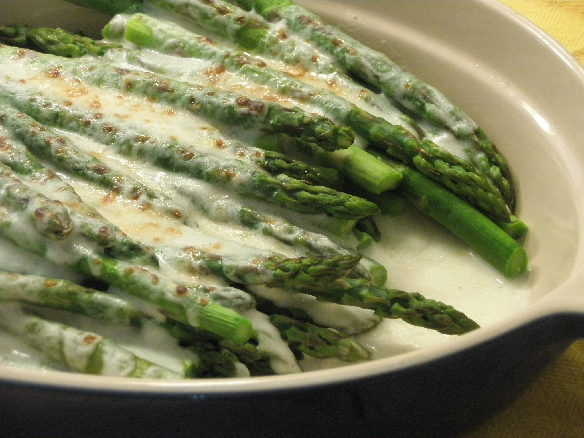 Reasons to Celebrate + An Asparagus Gratin | Kitchen Bitch