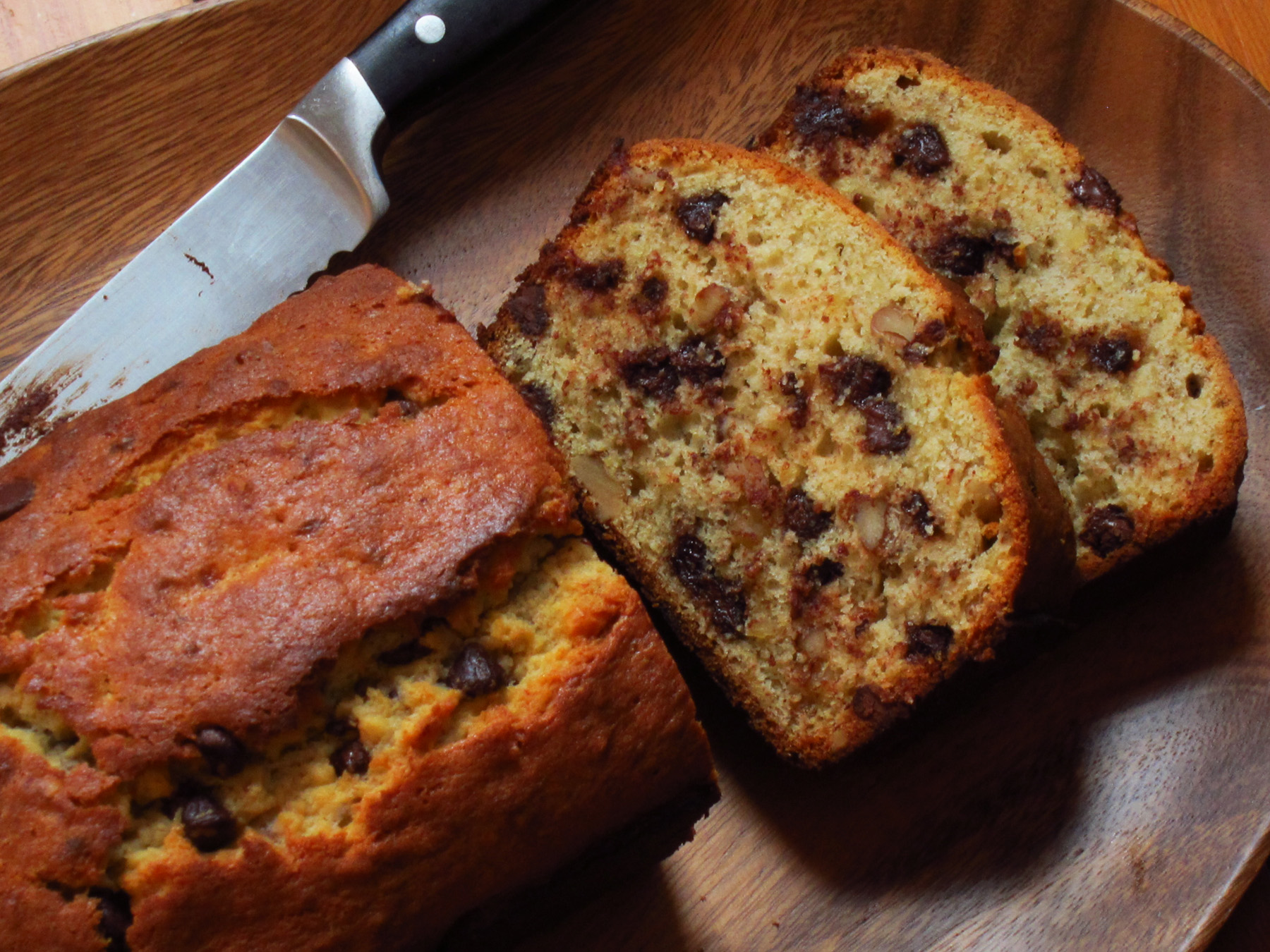 Bourbon-Chocolate Banana Bread | Kitchen Bitch