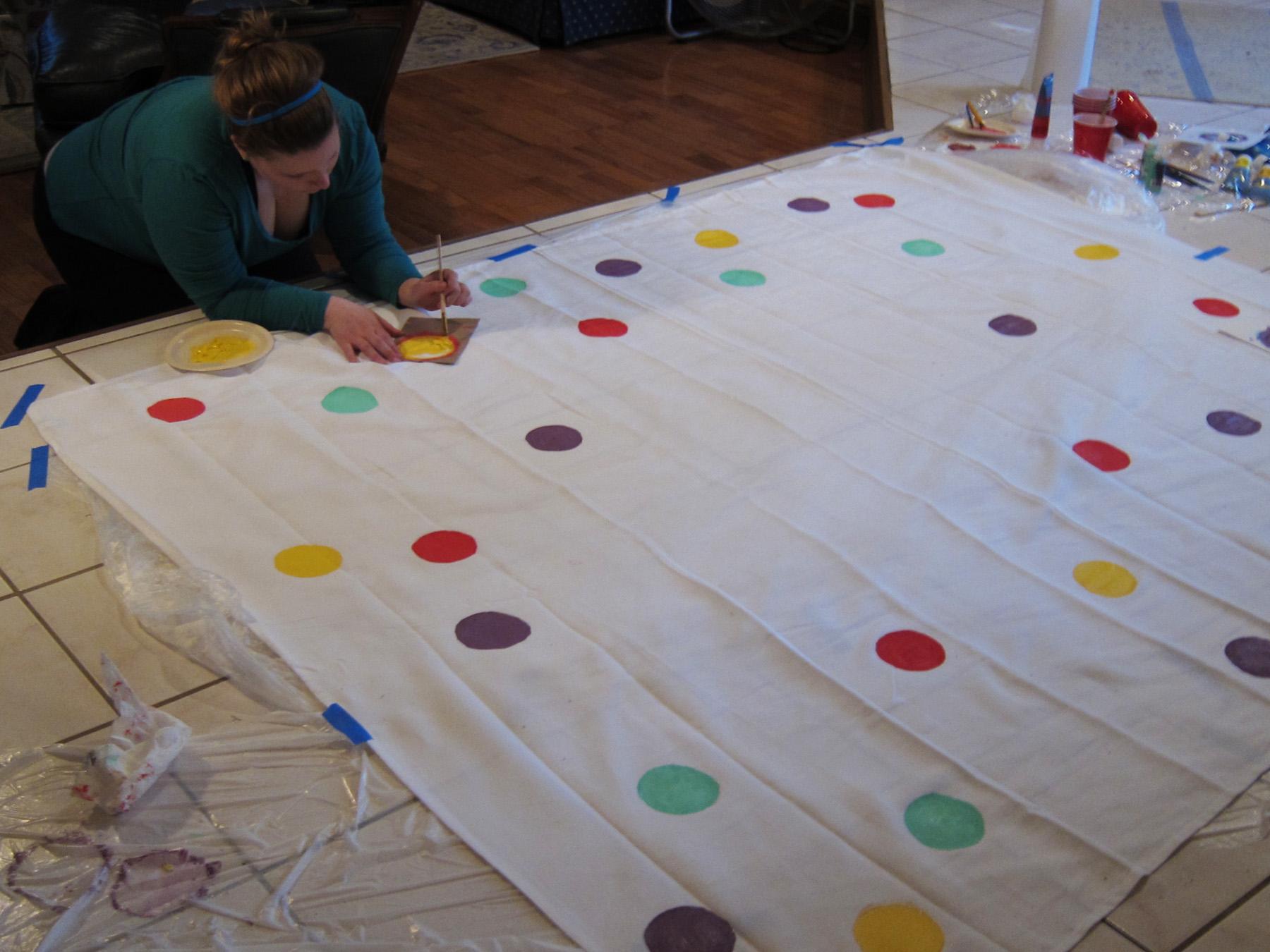 Diy Confetti Tablecloth Kitchen Bitch