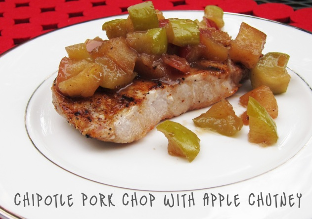 Grill It: Chipotle Pork Chops with Apple Chutney | Kitchen Bitch