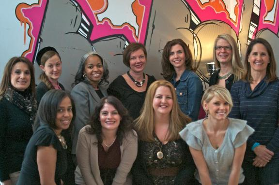 The Spring 2013 Bad Girl Ventures Class. (That's the KB first row, second to the left.)